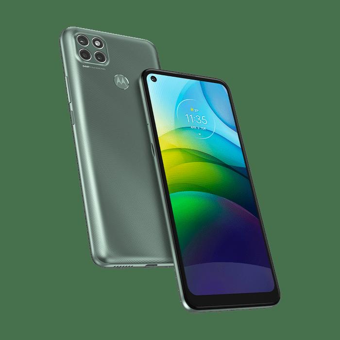 Imagem-frontal-curvada-smartphone-moto-g9-power-verde-pacifico--1-