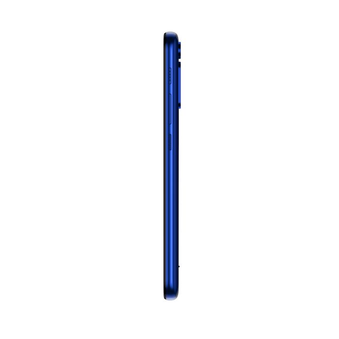 Smartphone-Motorola-one-fusion-64gb-Imagem-lateral-azul-safira