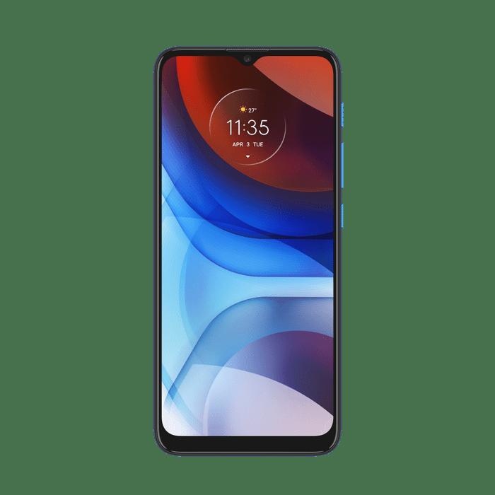 Smartphone-Moto-E7-Power-32GB-Imagem-Frontal-Azul-Metalico