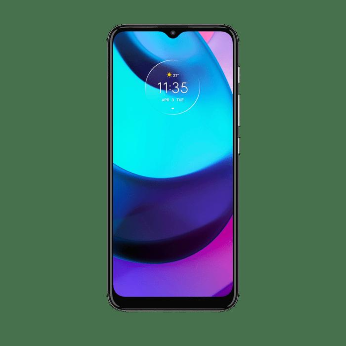 smartphone-moto-e-20-imagem-frontal-cinza